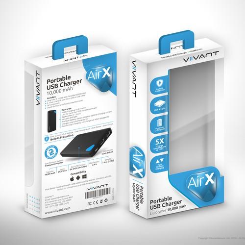 Viivant AirX Packaging Design Concept