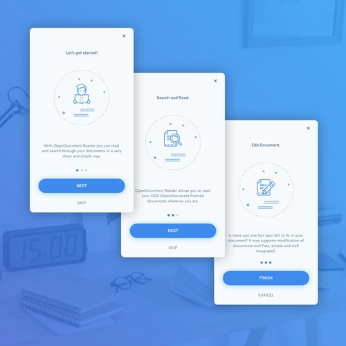 Simple On Boarding App
