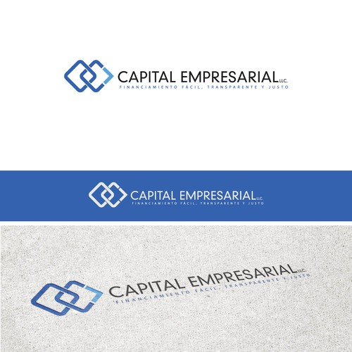 Create a logo and website for Capital Empresarial, LLC.