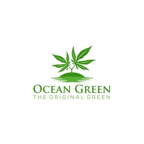 Ocean Green Logo Design Concept