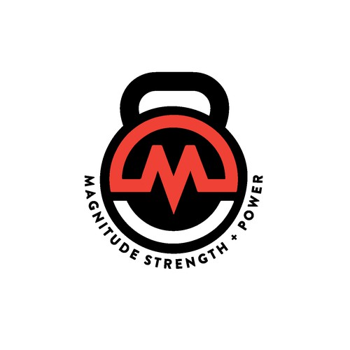 Logo Design for Magnitude Strength + Power