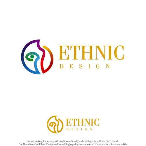 Logo para ETHNIC DESIGN