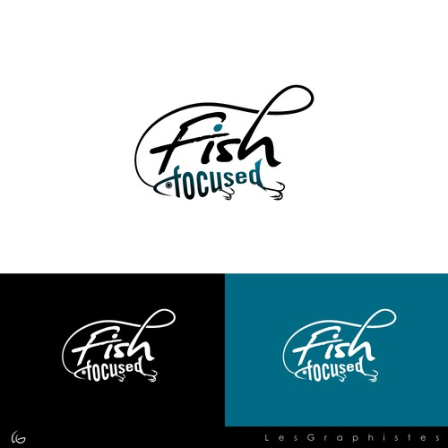 Logo for fishing blog