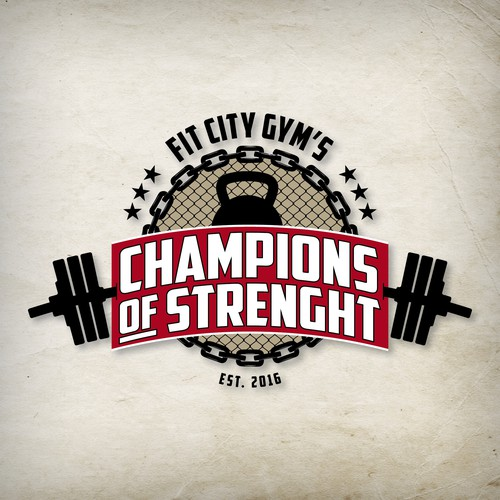 Champion of strenght