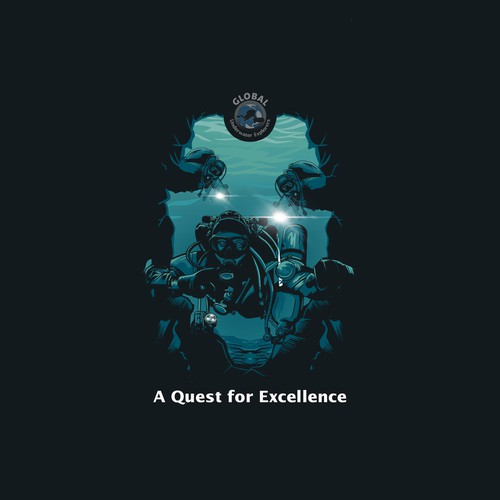 "Underwater Divers ""Quest for Excellence"""