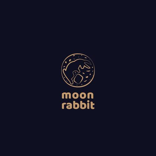In contest Moon Rabbit needs modern minimal flat logo. (Japanese Hipster)
