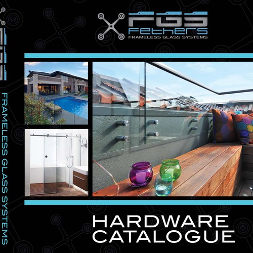 Design the new cover for the FGS Glass Hardware Catalogue