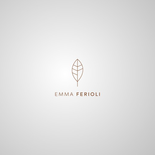Professional logo for EMMA FERIOLI