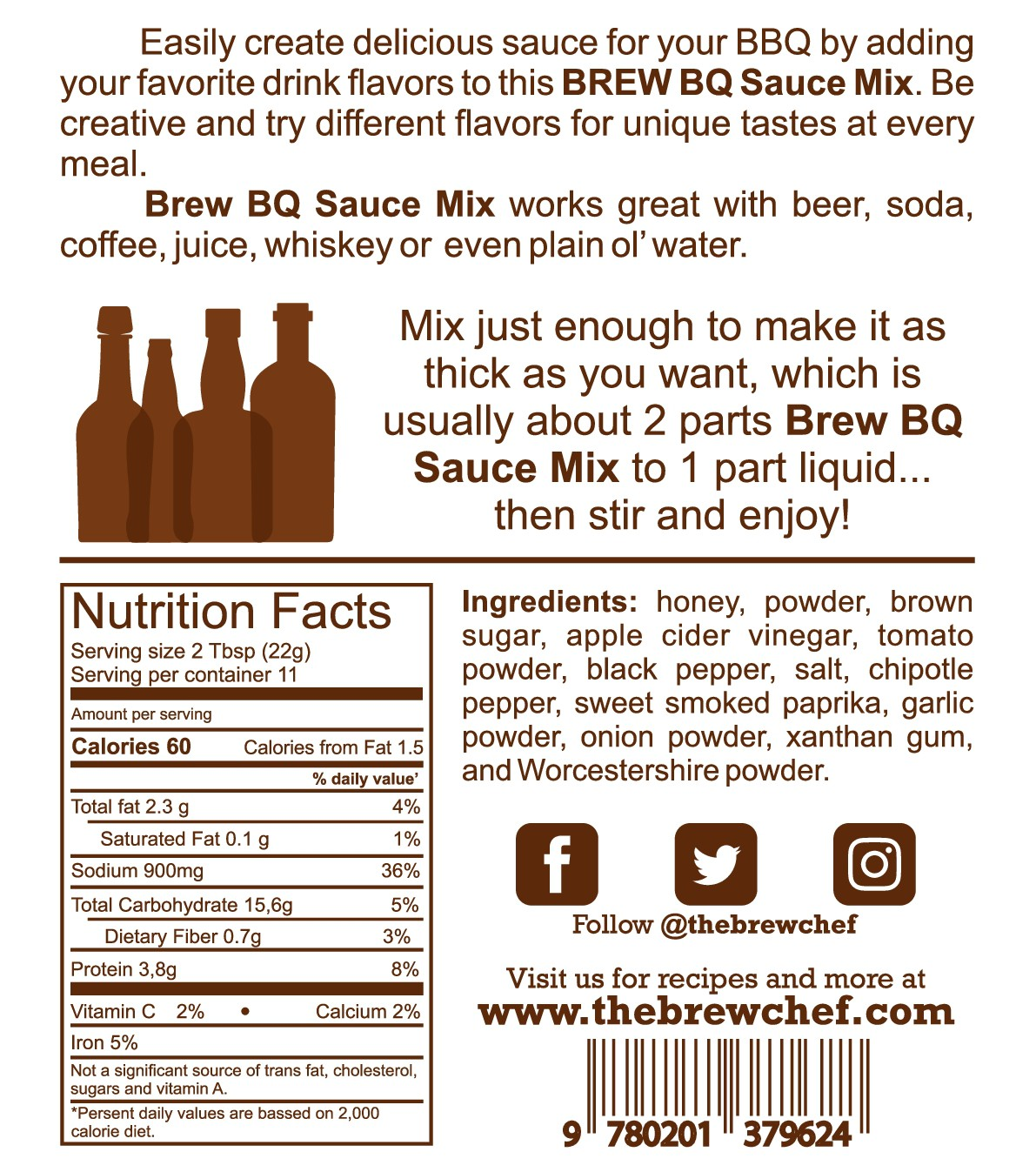 Updated BrewBQ packaging and website components