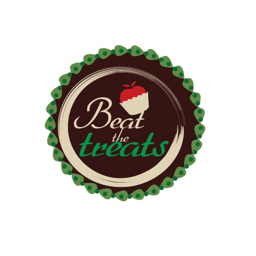 Create a logo for a health and wellness website called: Beat The Treats