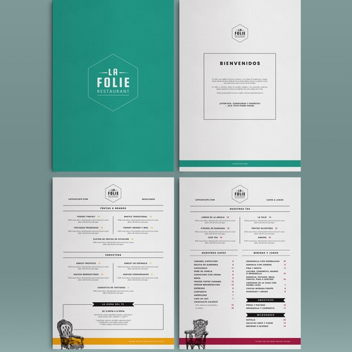 La Folie Restaurant Menu