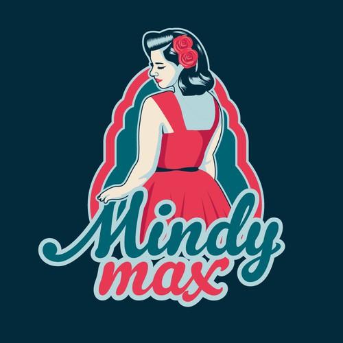 MindyMax logo concept
