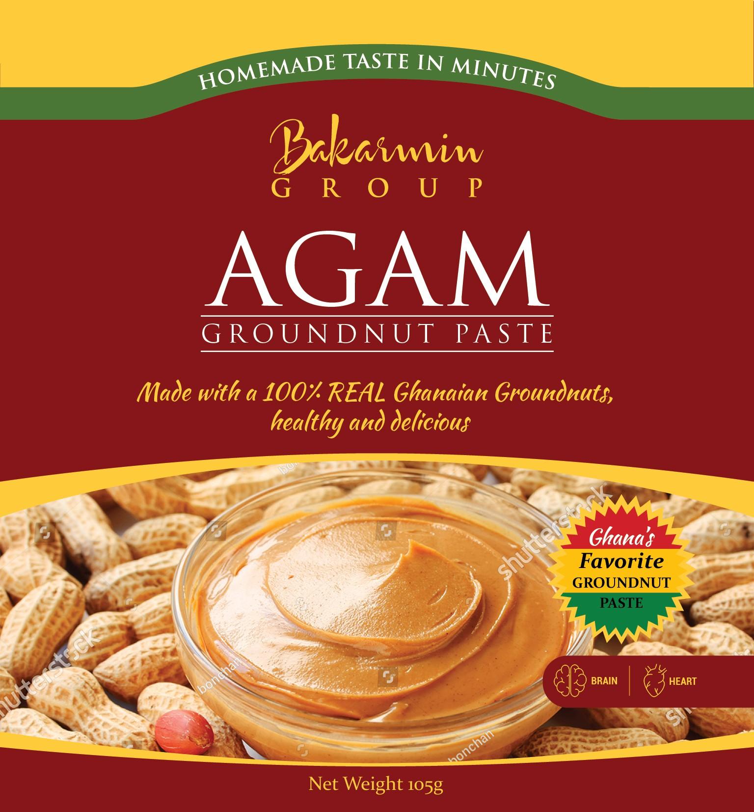 Packaging for groundnut paste sachet