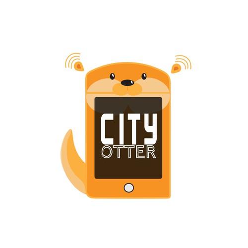 Cute Cartoony Logo for tech company.