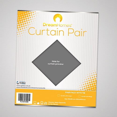 Curtain packaging