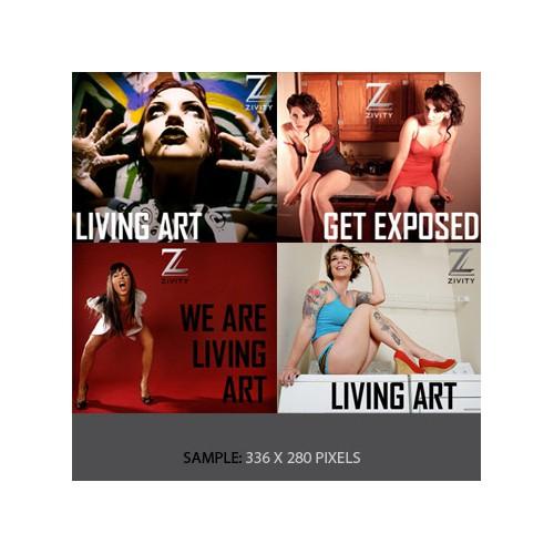 Zivity - web banners
