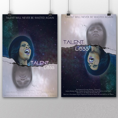 TalentLESS ~ short movie posters