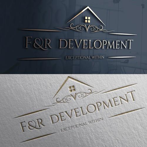 Luxury Real Estate Logo Design.