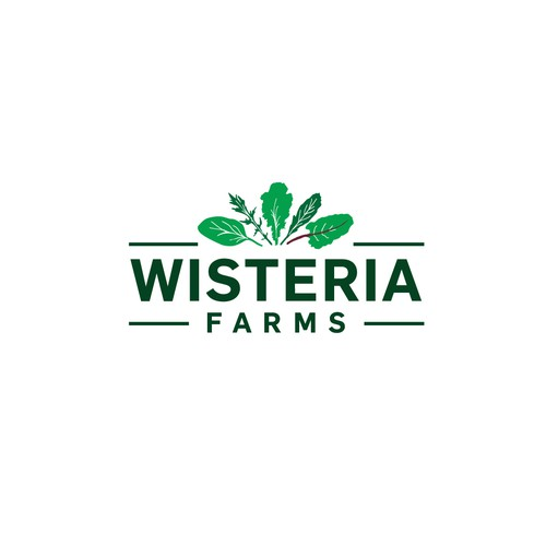 Logo concept for green farm