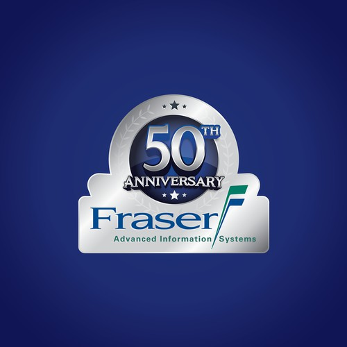 Fraser 50th Anniversary Logo