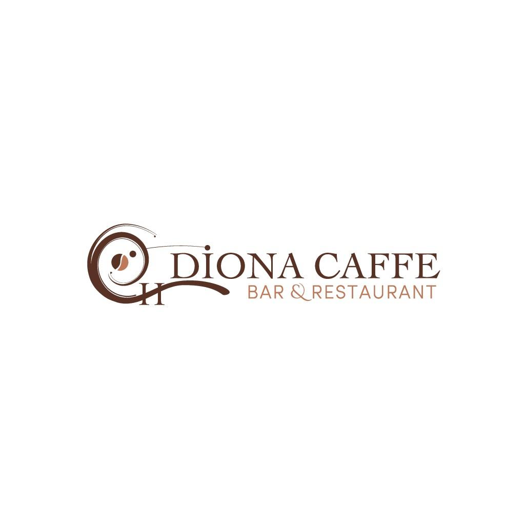 Erstellen eine super logo Diona Caffe Haus