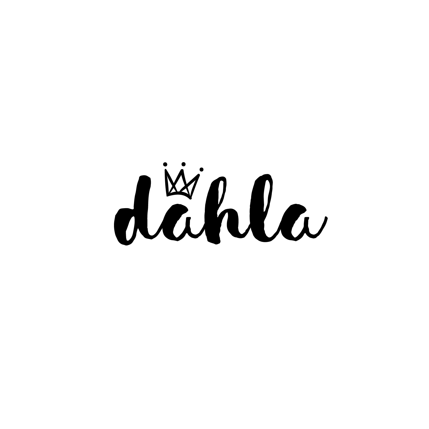 Will it be YOU…? Create a unique & memorable brand identity for DAHLA!