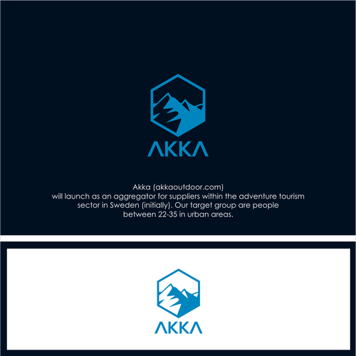 Logo Concept For AKKA outdoor