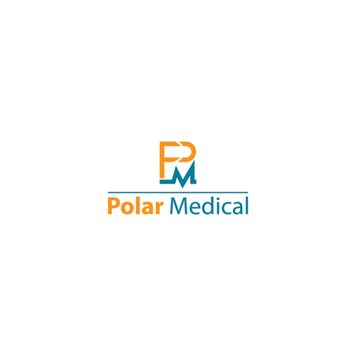stylish logo concept for Polar Medical
