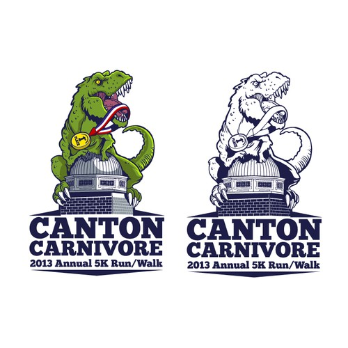 Be our hero!! Create a fun, original logo for the Canton Carnivore