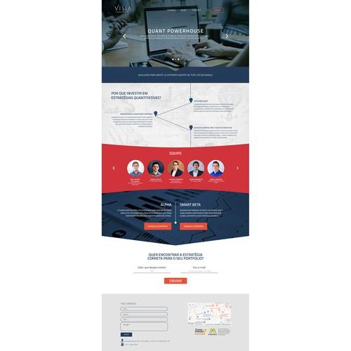Fintech Company Looks For A Modern Website Design
