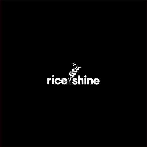 Modern and Elegant Logo for Rice and Shine