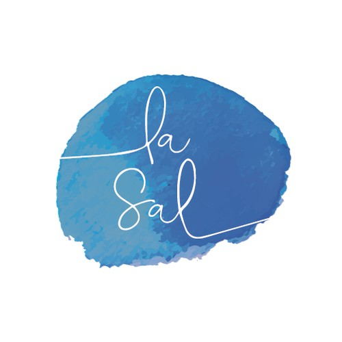 Watercolor logo