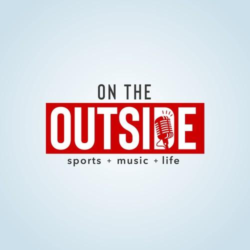 Bold logo for podcast