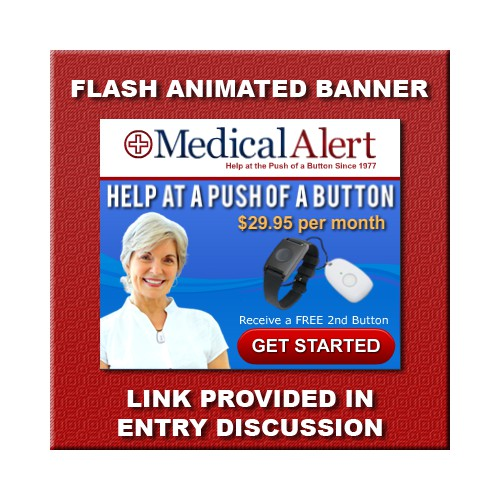 Help Medical Alert  with a new flash banner