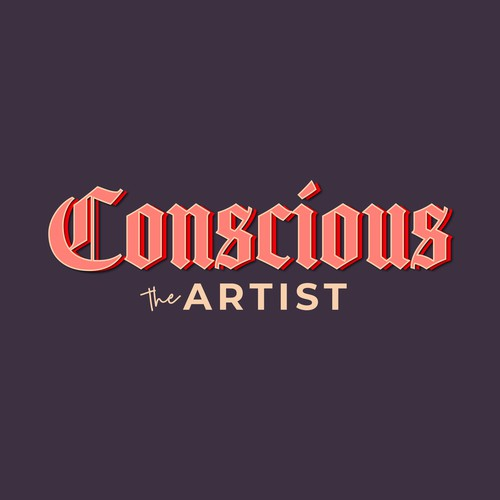'Conscious the Artist' podcast logo