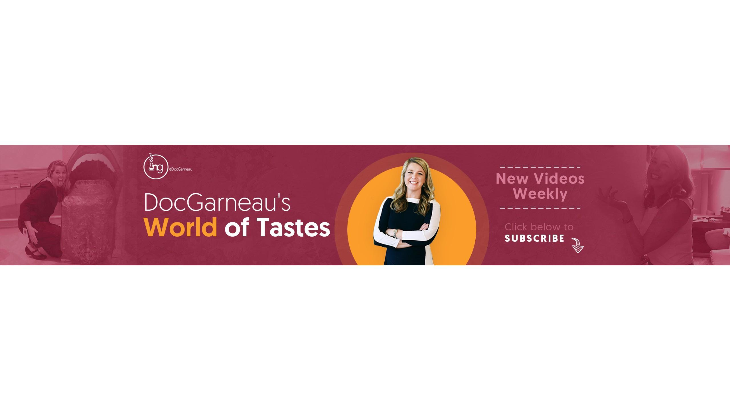 Fierce, Foodie Scientist Seeks YouTube Banner