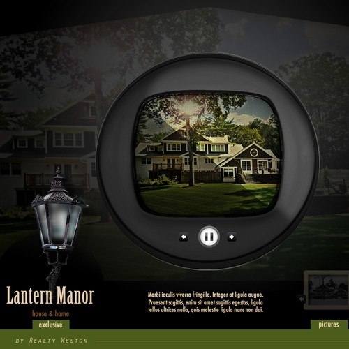 "Lantern Manor - multi-million dollar luxury home needs website:  ""Lantern Manor"""