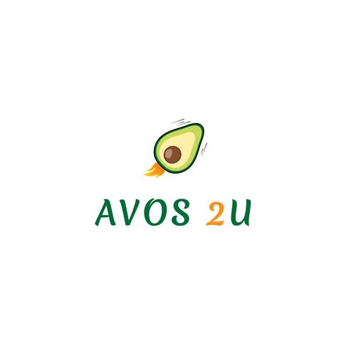 Modern logo for avocado farm