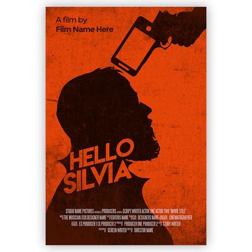 Hello Silvia Poster