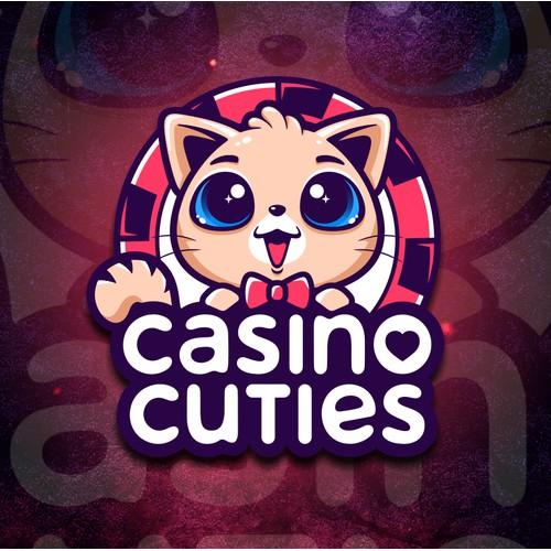 Logo/Mascot/Typography Casino Cuties