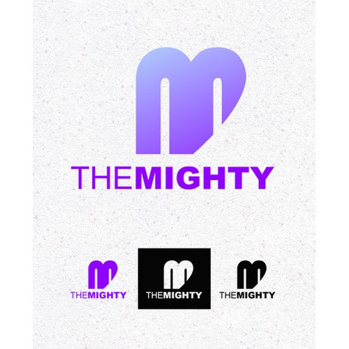 The Mighty -- create the logo for the next great digital media company!