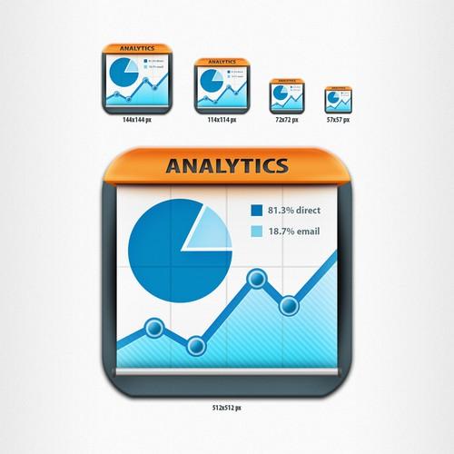 Statistics App - iPad App Icon