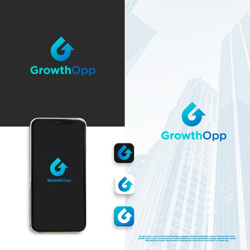 GrowthOpp Logo Design