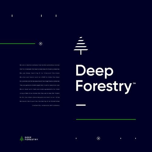 Logo Concept for DeepForest