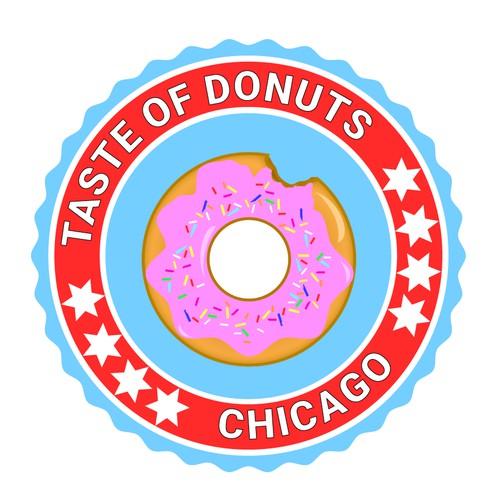 Logo for Donut Festival in Chicago