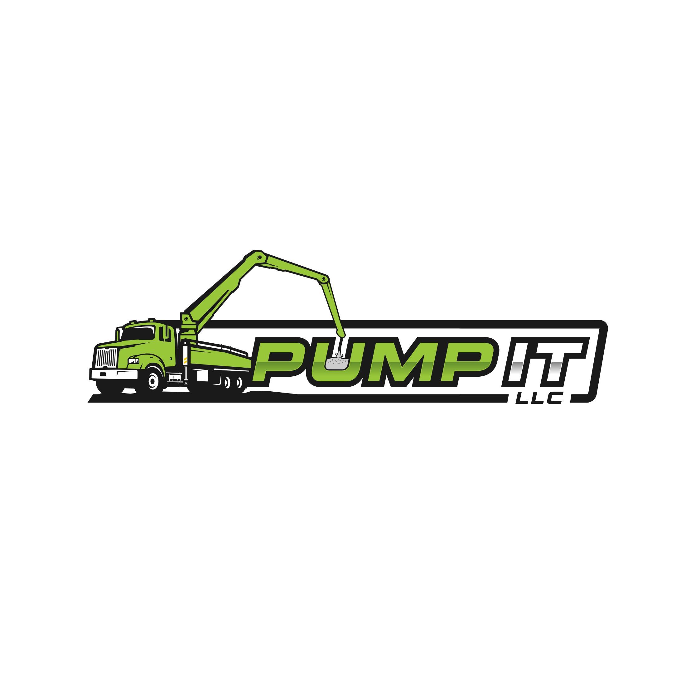 Design a logo for a new concrete pumping business
