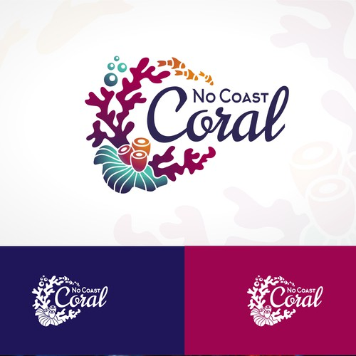 Coral business logo
