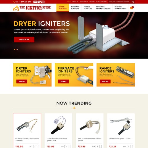The Ignitor Store Re-Design Project