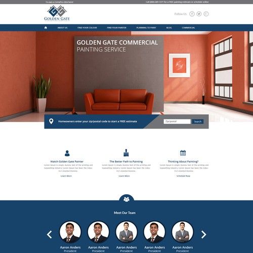 Website Design for Consultancy Company