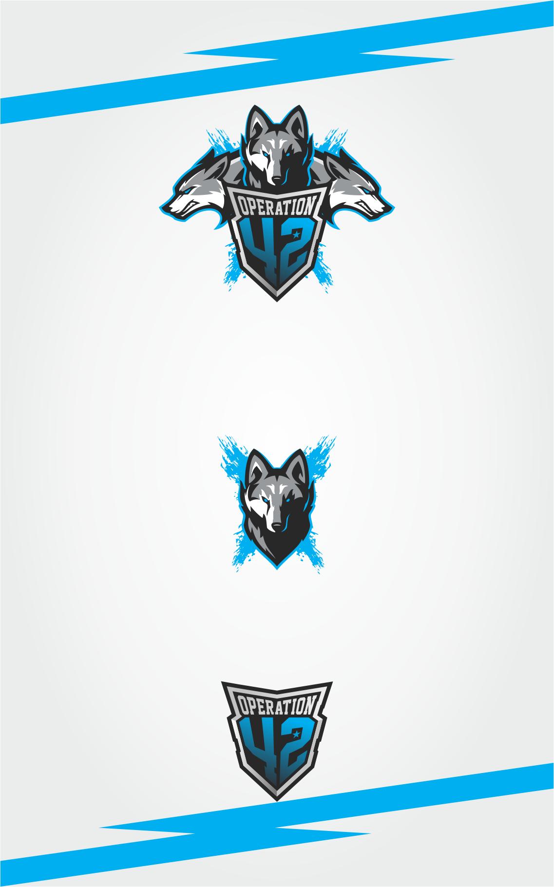 Erstelle ein Design für ein professionelles Esports-Team Logo + Social Media